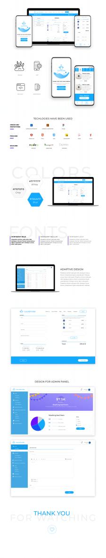 Сайт, приложение, админ панель для Laundrwise