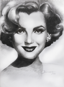 Portrait of Norma Jeane Baker