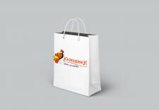 Фирменный пакет для магазина бижутерии