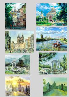 Серия пейзажей