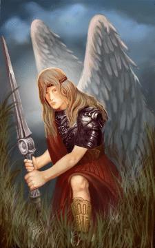 ангел с мечом