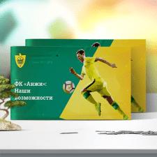 Дизайн презентации «ФК Анжи»