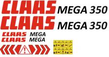 Наклейки на комбайн Claas Mega