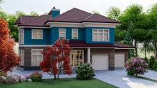 Визуализация жилого дома г.Ровно