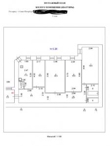 Поэтажные планы и экспликации помещений в AutoCad