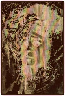 портрет К.Билокур
