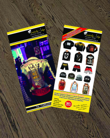 Флаер для магазина стильной эксклюзивной одежды