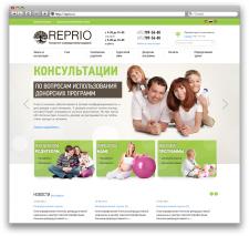 Сайт центра репродуктивной медицины