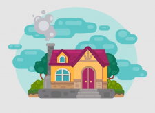 Flet house