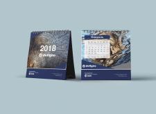 Настольный календарь Doligno