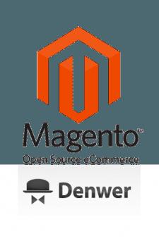 Установка magento2 в Denwer