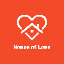 Логотип для хэнд-мэйд «House Of Love»