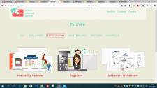 Создание раздела portfolio и archiv