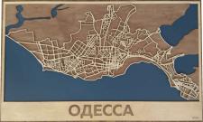 Карта Одеси
