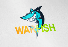 "Логотип для стартапа ""WarFish.io"""
