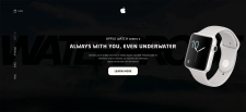 Landing Page - Apple Watch