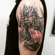 тату Один tattoo Odin