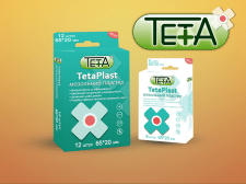 Макет коробки TetaPlast 4