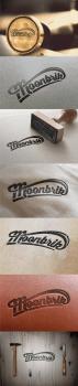 """Логотип компанії шкіряних виробів """"Moonbrick"""""""