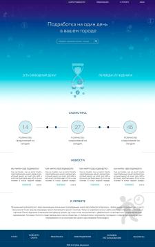 Дизайн сайта портала поиска работы