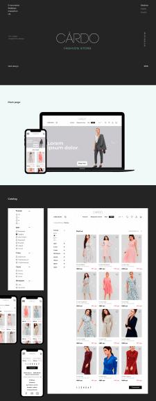 Редизайн для интернет-магазина