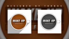 Логотип (logo) - Wake Up Coffe