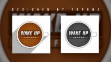 Логотип (logo) - Wake Up Coffe