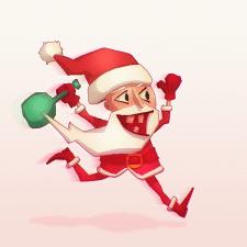 Санта Клаус.