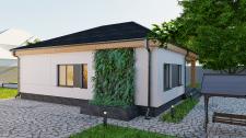 Дизайн фасада дома в эко-стиле