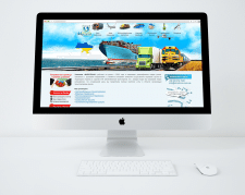 корпоративный сайт компании Mirotrans