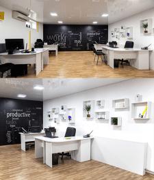Дизайн интерьера нашего офиса