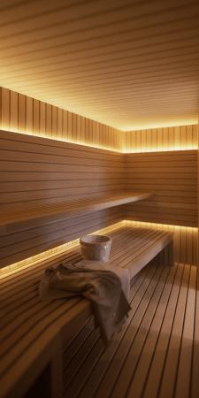 Дизайн интерьера сауны