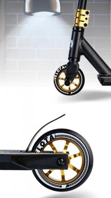 Дизайн колёс на трюковом самокате