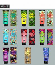 Логотип, дизайн оригинального продукта MOXIE