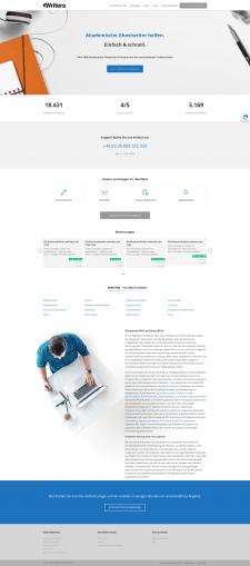 Корпоративный сайт на wp под ключ (Германия)