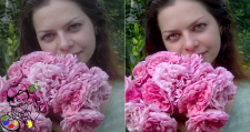 Ретушь+цветокоррекция