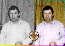 Реставрация фото ,окрашивание