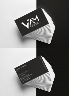 Дизайн визиток для компании охранных сигнализаций