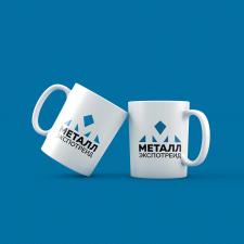 Чашка для фирменного стиля металлобазы
