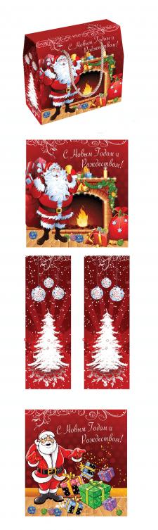 дизайн новогодней упаковки для подарков для детей