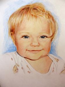 графика портрет