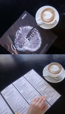 Разработка дизайна меню ресторана