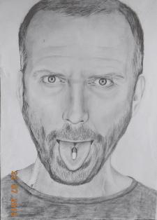 Портрет карандаш