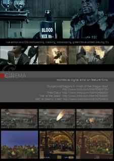 портфолио: обработка видео, композинг