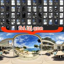 Сшивка сферических панорам 360 HDR
