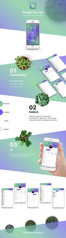Мобильное приложение по уходу за  растениями