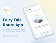Fairy Tale Route App   IOS application
