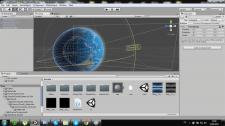 Planet, Unity3D