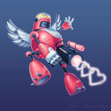 Персонаж кибер-божество Amur v.2.0
