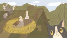 Иллюстрация к сказке «Мурко и Бурко»